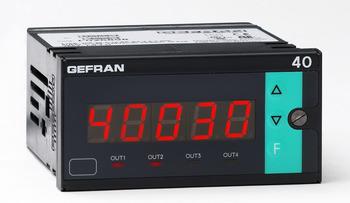 Indikator, larmindikator, panelmonterat mätinstrument för variabler som temperatur, tryck, läge, flöde