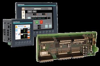 Operatörsterminaler, PLC, I/O's, Industri PC för maskinreglering, kontroll och styrning